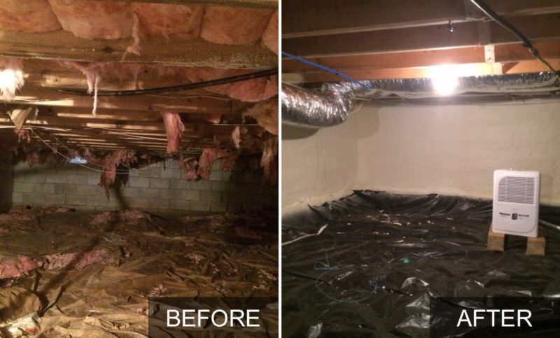 Crawl Space Insulation Amp Conditioning Spray Foam Insulate