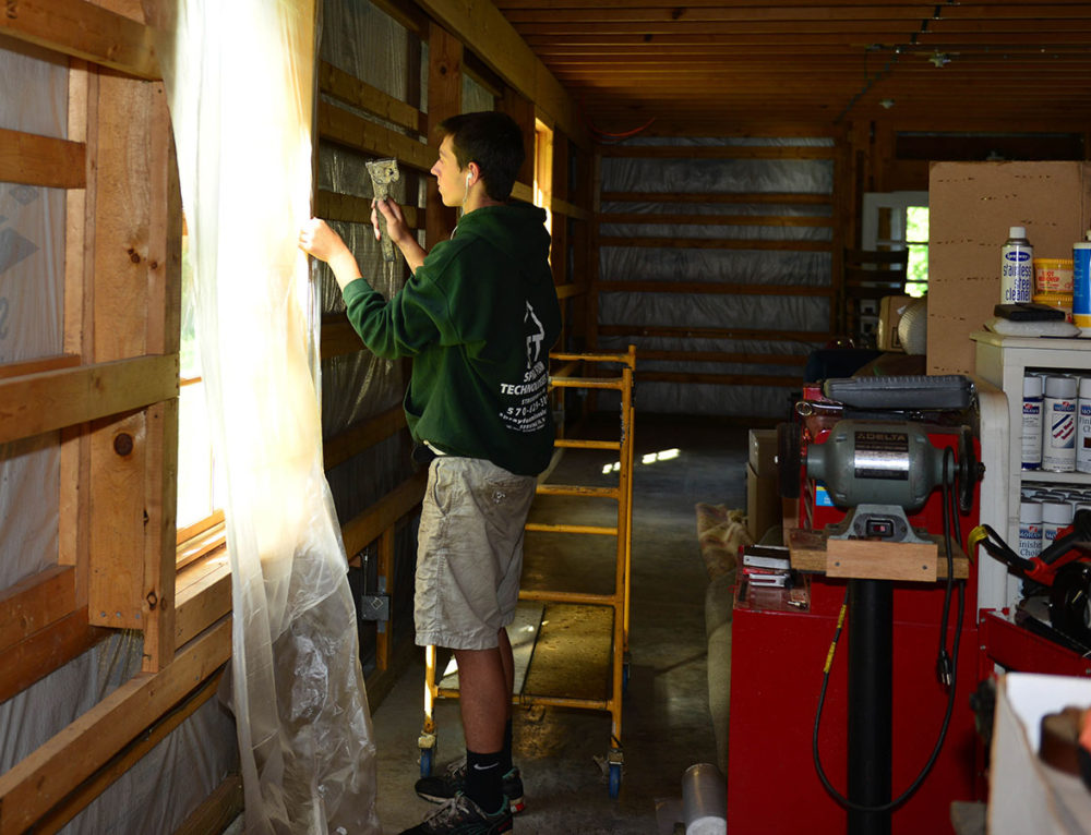 Thinking Outside the Box with Spray Foam